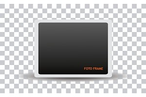 Clean isolated Foto Frame