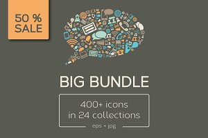 Big Bundle of Vector Icons