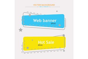 Color web banners