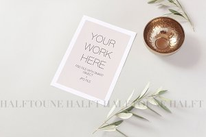 Styled Invitation Mockup