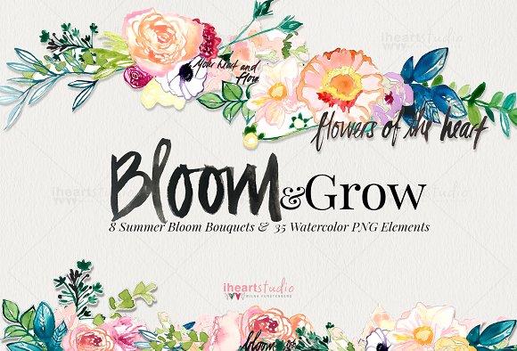 Bloom & Grow Watercolors