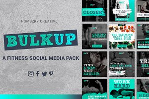 BULKUP-Social Media Pack