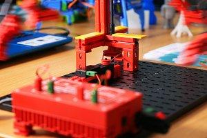 Robotics simulator model computer controlled