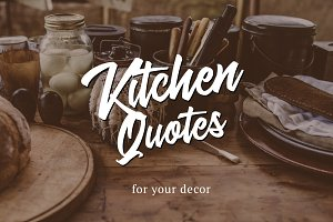 9 Kitchen Posters