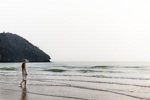 Chill Peace Summer Coast Vacation