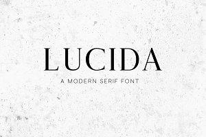 Lucida Modern Serif Font