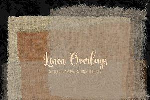 Linen Overlays - PNG Textures