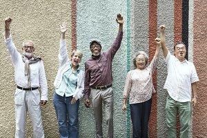 Group of Senior