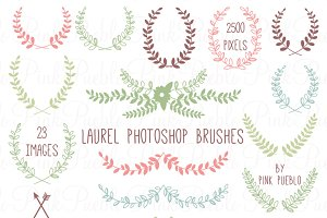 Laurel Photoshop Brushes