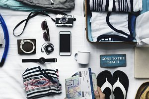 Holiday travel packing