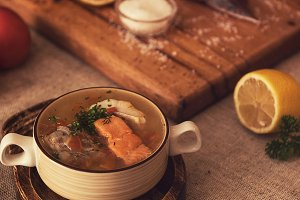 fish soup composition