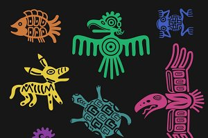 Inca pattern culture signs