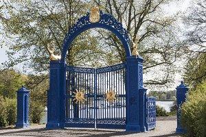 Blue Gate on Djurgarden
