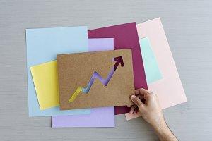 Arrow paper design