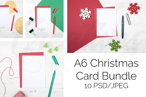 A6 Christmas Card Bundle