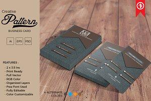 Creative Pattern Business Card