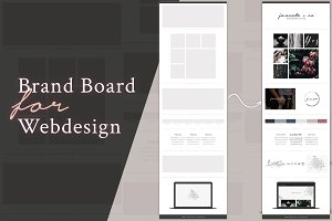 Brand Board Template: Jannete+co