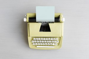 Retro Typewriter Machine