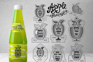Cider labels and elements