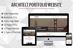 Architect Portfolio Bootstrap