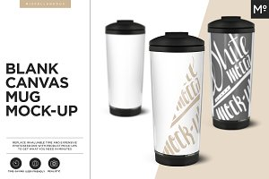 Blank Canvas Mug Mock-up