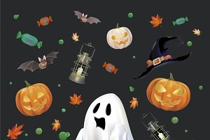 Halloween Concept Illustration
