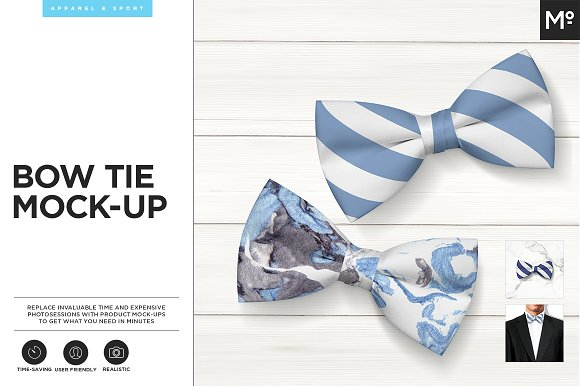 Download Bow Tie Mock-up