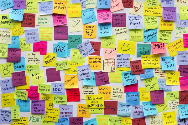 Sticky Note Post It Board Office