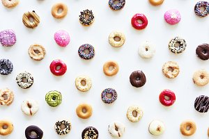 Pattern of Donuts