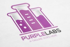 Purple Labs | Logo Template