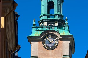 bell tower of St. Nicholas church
