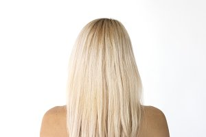 Blonde Woman Turn Back