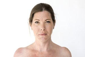Adult Woman Studio Portrait