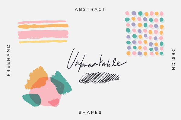 Unbreakable - Free, Abstract, Desig…