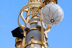 Large decorative lamps