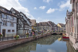 The beautiful village of Colmar