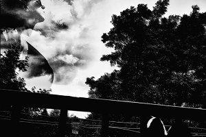 Cloudy stare