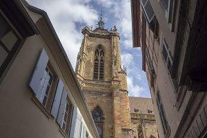 The beautiful village of Colmar