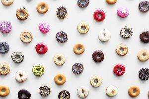 Donuts pattern