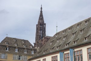 The beautiful city of Strasbourg