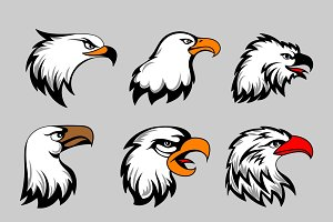 American eagles head set