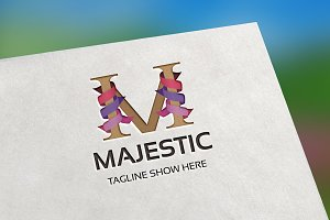 Majestic (Letter M) Logo