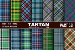 Seamless  Tartan Pattern Part - 58