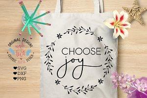 Choose Joy Cutting File & Printable