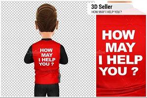 3D Seller Back