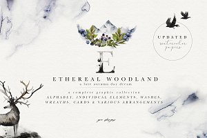 Ethereal Woodland - Graphic Set