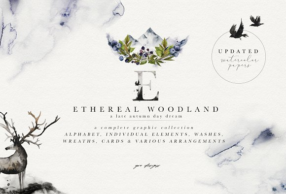 Ethereal Woodland - Graphic-Graphicriver中文最全的素材分享平台