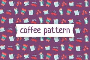 Coffe pattern