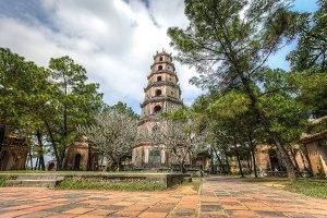 Temple in Viet Nam