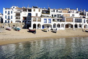 View of Calella de Palafrugell.Spain